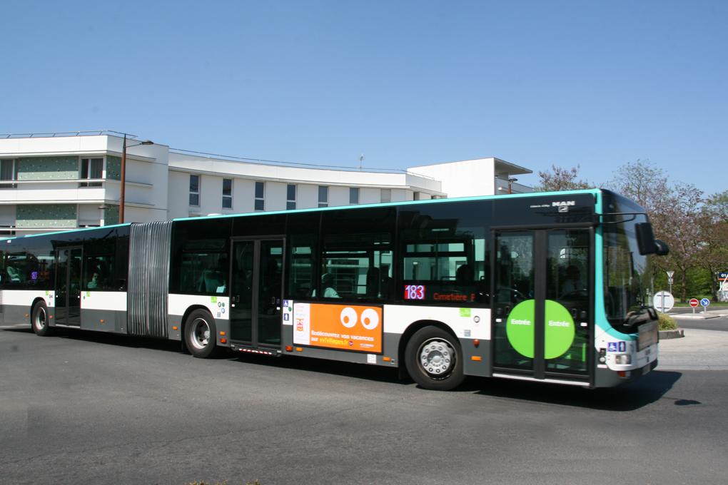 Transports cadre de vie ville d 39 orly - Bus 183 aeroport orly sud porte de choisy ...