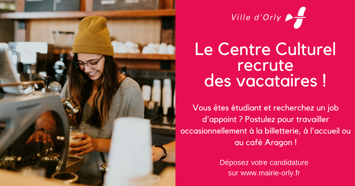 le centre culturel recrute      centre culturel aragon